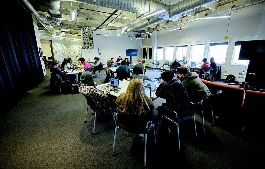 EDP undergraduate classroom