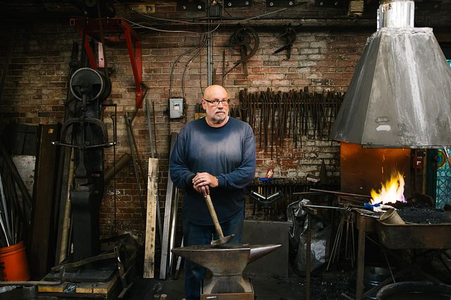 Zookeeper-Turned-Blacksmith Creates for South Bay Thumbnail