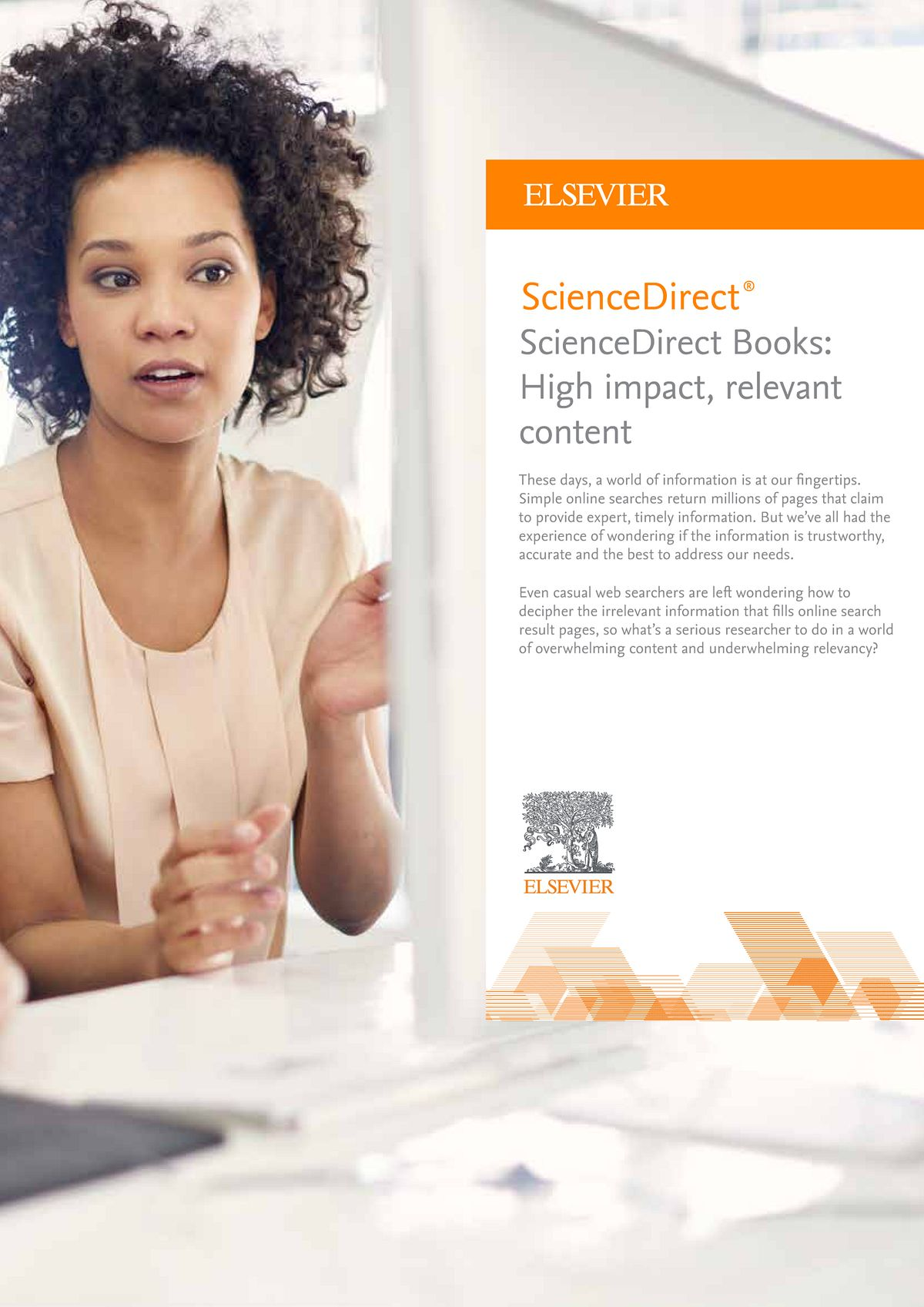 Thumbnail for ScienceDirect Books brochure