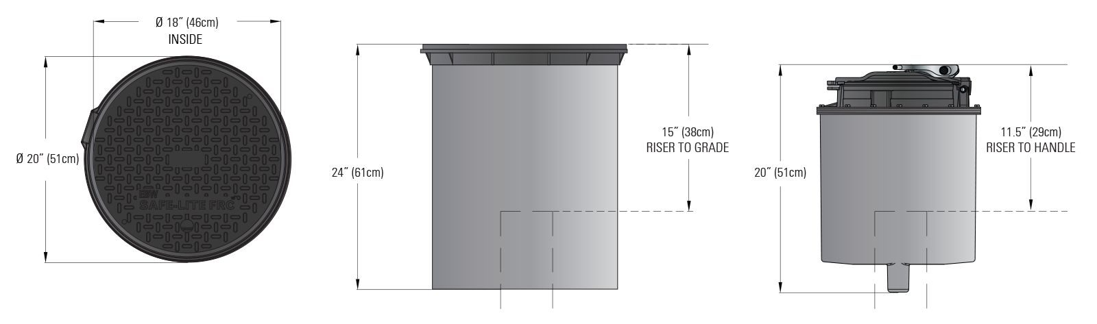 Defender Series Spill Containers - Below Grade Dims.psd