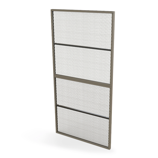 Wall-Mount Art Storage Screen
