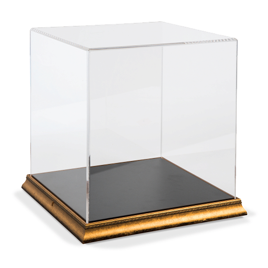 Gaylord Archival® Gem Metallic Venice Frame Acrylic Tabletop Case with Laminate Deck
