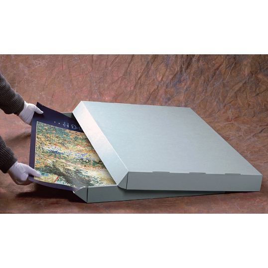 Gaylord Archival® E-flute Drop-Front Gallery Box