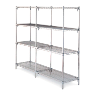 Metro Super Adjustable Wire Shelving Adder Unit