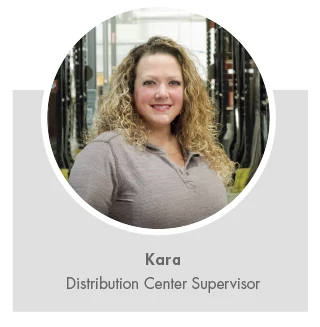 Kara, Distribution Center Supervisor