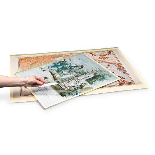 Gaylord Archival® 20 pt. Viewing Folders with 5 mil Archival Polyester Covers (5-Pack)