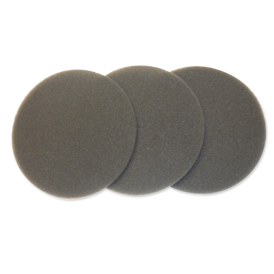 DataVac® Replacement Foam Filters for Pro Series Vacuum Cleaners (3-Pack)