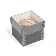 Gaylord Archival® Single Baseball Box with Clear Lid