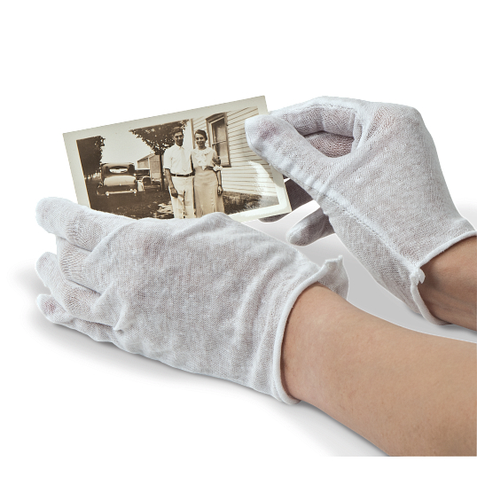 Disposable Cotton Gloves (12 Pairs)