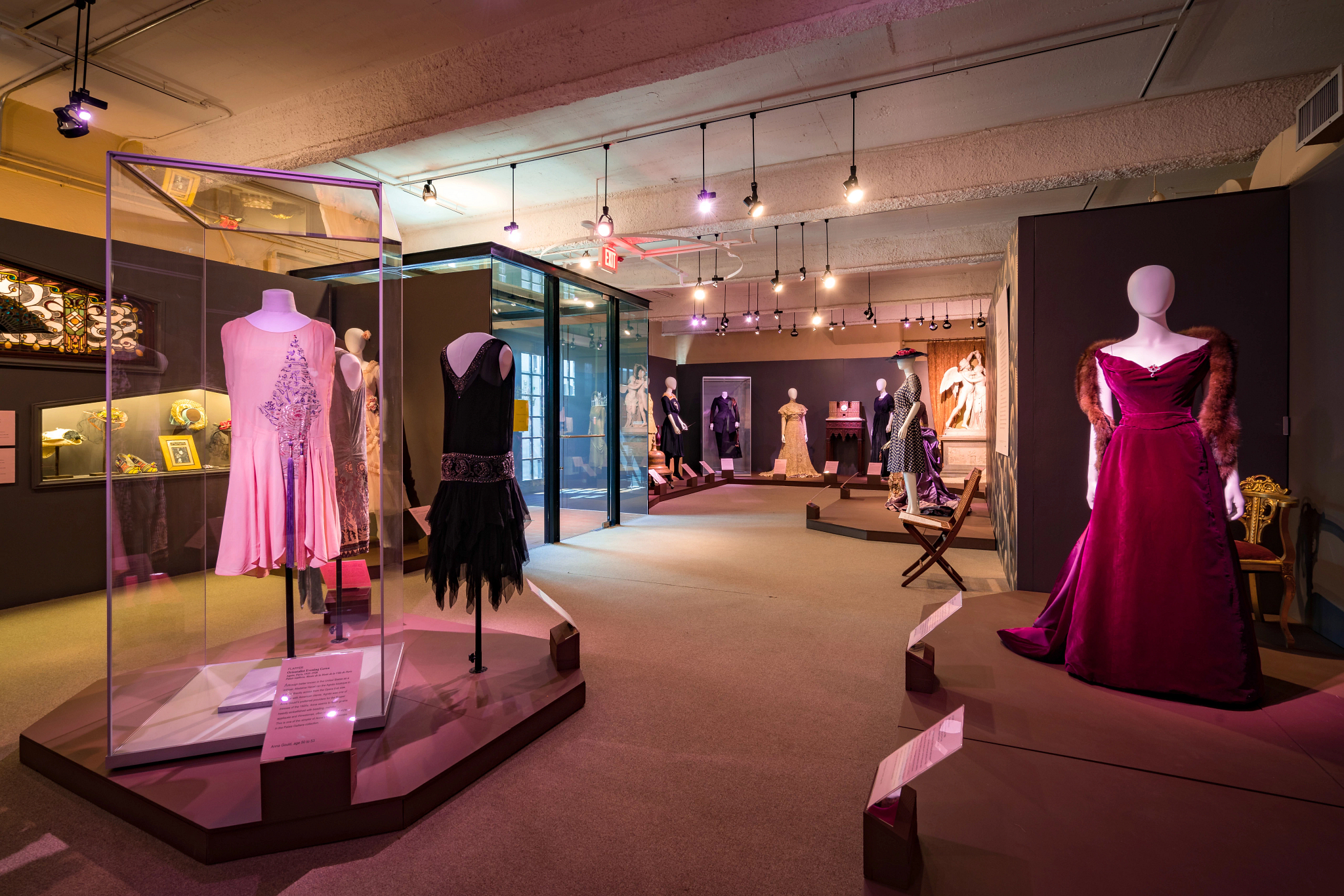 Frank System Showcasing Fashion Exhibit