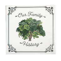 Gaylord Archival® Our Family History Genealogy Scrapbook Page Set