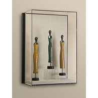 Gaylord Archival® Metro™ Liberty Wall-Mount Museum Case