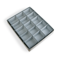 Gaylord Archival® 15-Compartment Blue Artifact Tray