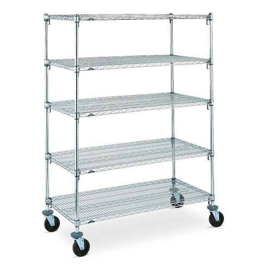 Metro Super Adjustable Mobile Wire Shelving Rack