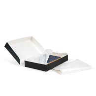 Gaylord Archival® Black Clamshell Rare Book Box