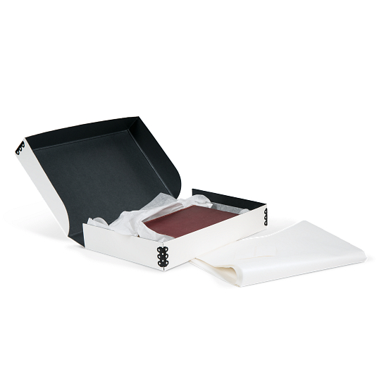 Gaylord Archival® White Clamshell Rare Book Box