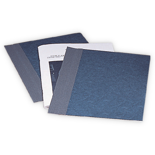 "Gaylord Archival® Classic™ 3/8"" Staple-In Stiffened Hinge Speedy Binders with DuraCoat™ Acrylic Coating (12-Pack)"