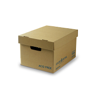 Gaylord Archival® C-flute Acid-Free Record Storage Carton