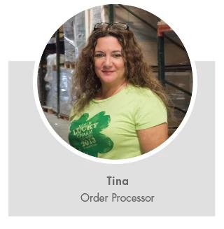 Tina, Order Processor