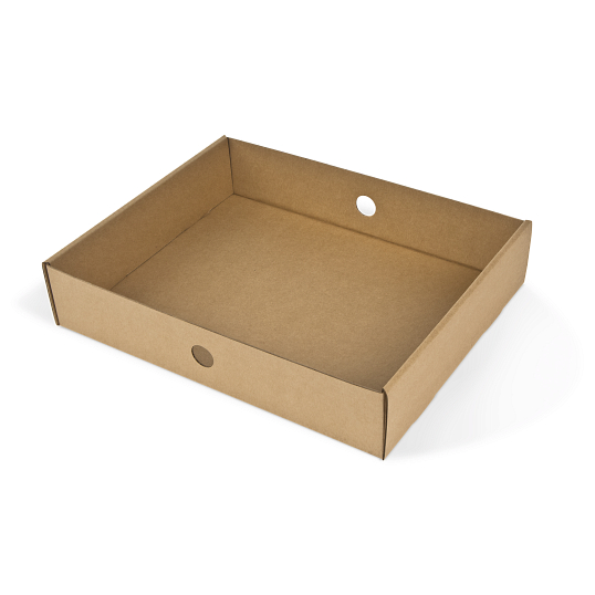 Gaylord Archival® C-flute Tray for Acid-Free Record Storage Cartons