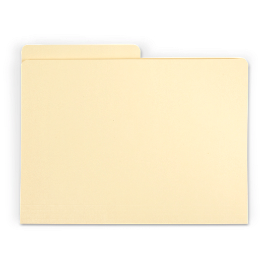 Gaylord Archival® Classic Half-Cut Tab Legal Size File Folders (100-Pack)
