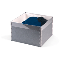 Gaylord Archival® Clear Lid Hat & Artifact Box