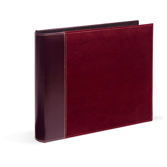 "Pioneer® 1 1/2"" D-Ring Faux Suede Album"
