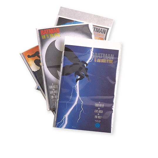 3 mil Polyethylene Marvel Comic Book Envelopes (100-Pack)