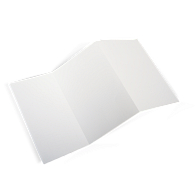 "Blank Laser/Inkjet 1H x 6""L Inserts for Plastic Label Holders (500-Pack)"