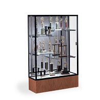 Waddell Reliant Exhibit Case with Mirrored Back