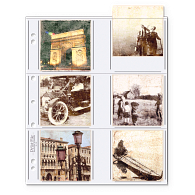 Print File® Square Format Polypropylene Album Pages (25-Pack)