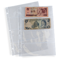 Archival Polyester 4-Pocket Currency Page