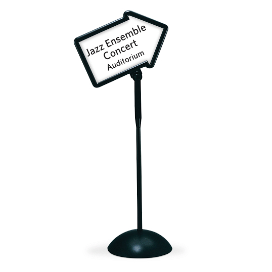 Safco® Write Way® Indoor Double-Sided Directional Arrow Message Board Stand