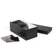 Gaylord Archival® Black Barrier Board Photo & Print Box