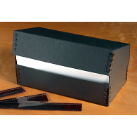 Gaylord Archival® Black Barrier Board Flip-Top Negative Box