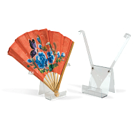 Acrylic Adjustable Handheld Fan Easel
