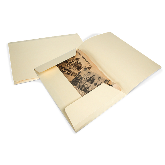Gaylord Archival® 3-Flap File Folders (10-Pack)