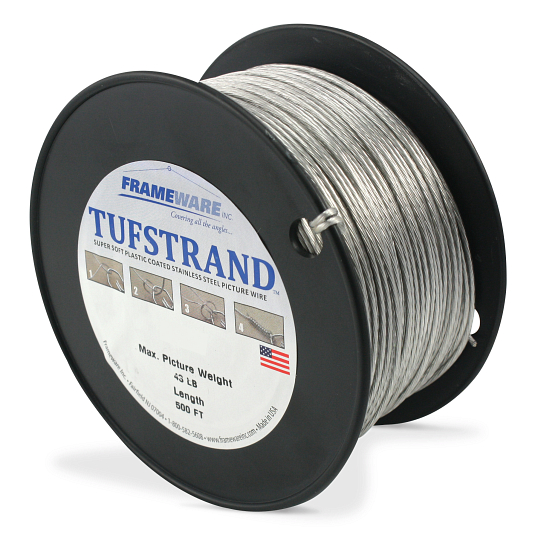 Tufstrand® Coated Steel Picture Wire