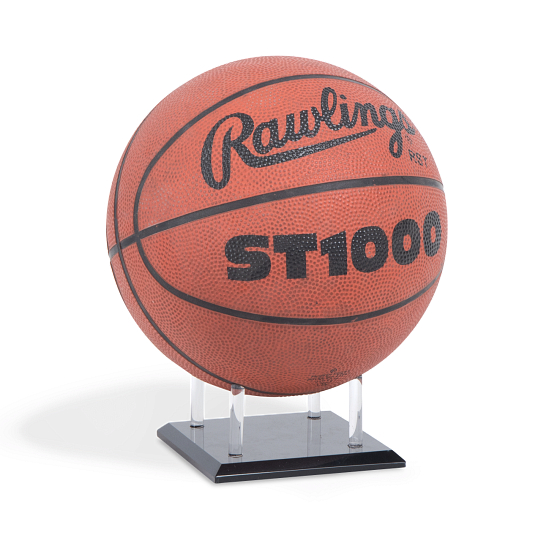 Gaylord Archival® League EZ Acrylic Basketball & Volleyball Stand