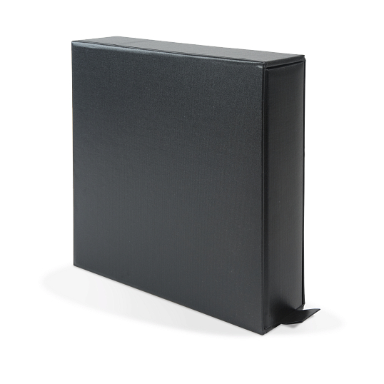 "2"" D-Ring Buckram Album with Slipcase"