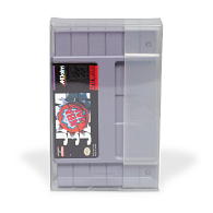 12 mil Archival Polyester Video Game Protector for SNES Cartridge
