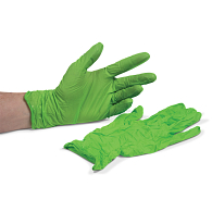 Showa Accelerator-Free Disposable 4 mil Nitrile Gloves (100-Pack)