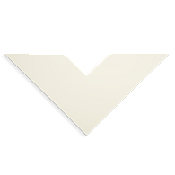 Rising Buffered Olde White Museum Matting & Mounting Board (25-Pack)