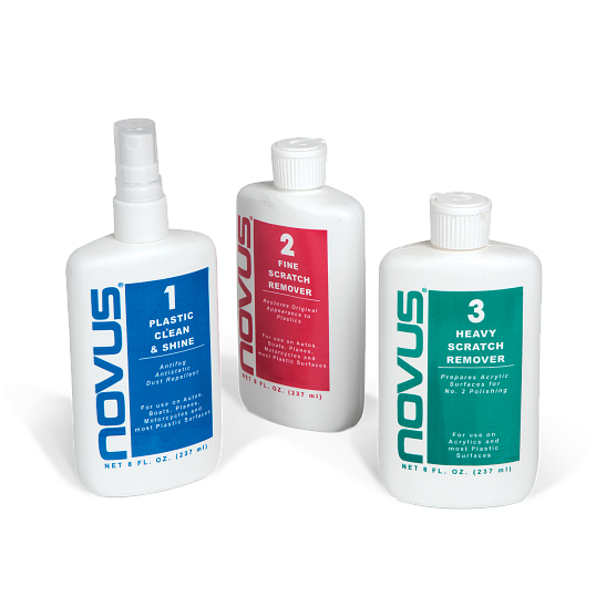 NOVUS Acrylic Cleaning & Scratch Removal Kit