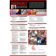 """Working with Emergency Responders: Tips for Cultural Institutions"" Poster"