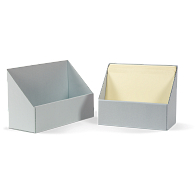 Gaylord Archival® Blue Corrugated Open File