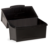 STIL Polypropylene Clamshell Media & Photo Storage Box