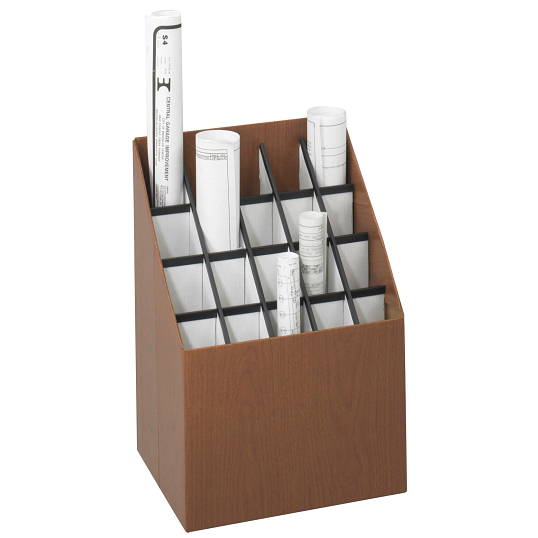 Safco® 20-Compartment Roll Storage