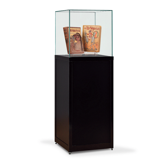 Gaylord Archival® Charter™ Glass Pedestal Exhibit Case
