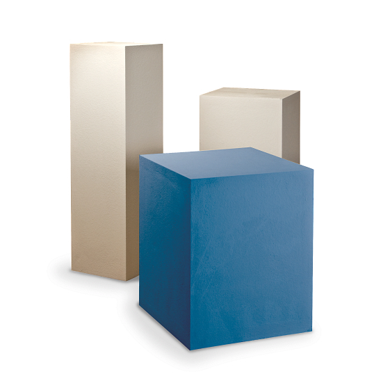 Gaylord Archival® Jewell™ Painted Exhibit Pedestal
